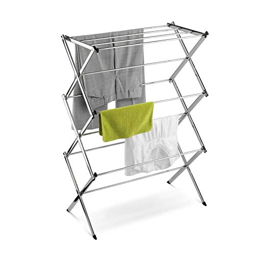 StarSun Depot Commercial Clothes Drying Rack Laundry Dryer in Chrome