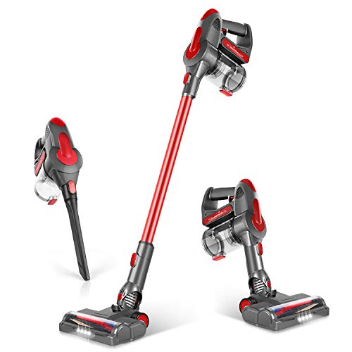 GeeMo Cordless Vacuum Cleaner 21Kpa Super-Suction 35 mins-Running 1.2L...