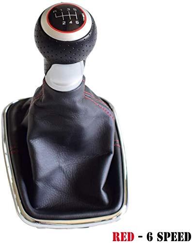 LAZNG Kit de Mando de Cambio de Engranaje Gaiter Cubierta de Arranque Engranajes Cubierta Reemplazo Protector a Prueba de Polvo, Ajuste para Volkswagen MK4 IV GTI R32 Bora Jetta 1999-2004