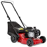 "Sprint 410P Push Petrol Lawn Mower 41cm (16""), Briggs & Stratton 300E Series 125cc, Dark Red, 40 cm/P"