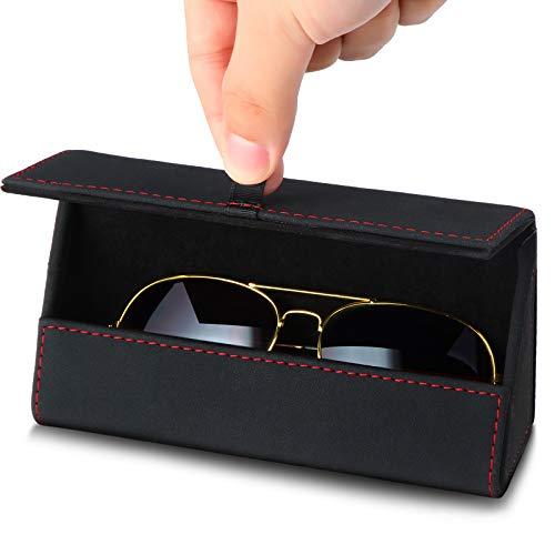 Cajas de Gafas de Coche Caja de Almacenamiento de Anteojos para Automóvil Soporte para Visera de Coche Decoración de Soporte de Clip de Gafas de Sol para Mayoría de Vehículos