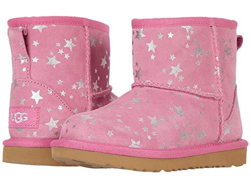 UGG Mädchen T Classic Mini II Stars Klassische Stiefel, WILD Berry, 25 EU