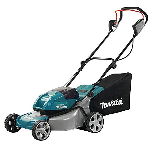 Makita DLM460Z Rasenmäher 2x18 V (ohne Akku, ohne Ladegerät), 36 V, Blau