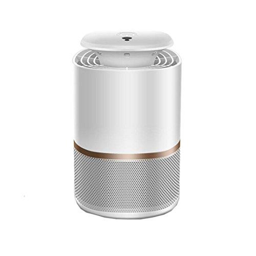 Preisvergleich Produktbild Vianber Innenphotokatalysator-Moskito-Mörder,  intelligente Lichtsteuerung USB-stummer LED-Moskito-Mörder-Lampe Nicht giftiger und geschmackloser automatischer Moskito-Fänger für Haus und Büro (Weiß)