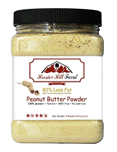 Hoosier Hill Farm , Polvo de mantequilla de maní, 450 g