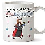 Tazza per insegnante bella e tazza da caffè Questa tazza appartiene a un super insegnante in ceramica 325 ml architettina