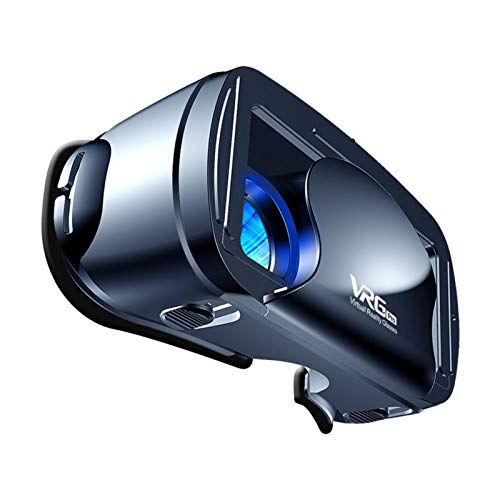 VR Gafas Movil Realidad Virtual Gaming 3D HD Gafas, Puede Ser Visto Por Personas Con Miopía Dentro De Los 800 Grados, Lente Gran Angular De 120 Grados Visualización Inmersiva, Para 5 ~ 7in Tel