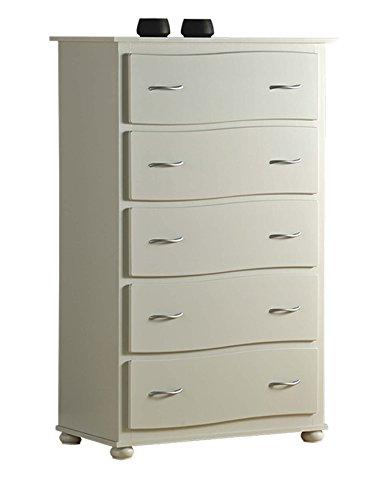 Legno&Design Commode Meuble cinquino Semainier 5 tiroirs Bois