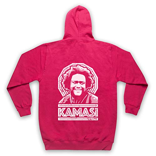 The Guns Of Brixton Kamasi Washington Tribute Sweat a Capuche avec Un Fermeture Eclair des Adultes, Rose, XL