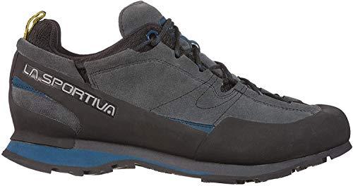 LA SPORTIVA Boulder X Grau, Herren Hiking- und Approach-Schuh, Größe EU 43.5 - Farbe Carbon - Opal