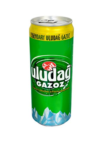 SUNTAT Uludag Gazoz, EINWEG, 24er Pack (24 x 330 ml)