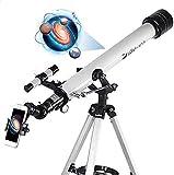 Telescope 60AZ Refractor Telescope Scope - 60mm Aperture and 700mm...