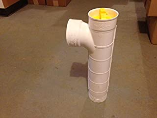 Septic Tank Tee Pipe with Filter 4 Inch - Approved in All 50 States