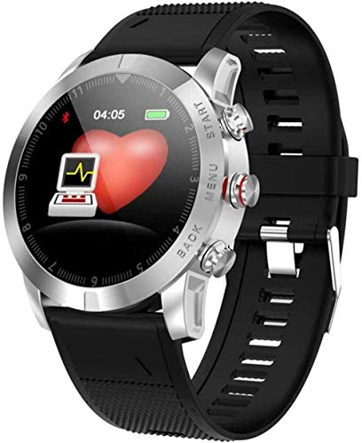 Reloj inteligente de actividad con monitor de ritmo cardíaco, podómetro, contador de pasos, para caminar