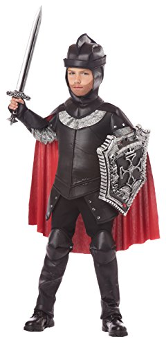 California Costumes The Black Knight Child Costume, Medium