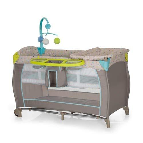 Hauck 4007923607589 Babycenter 2017grün, Box für Kinder, grau
