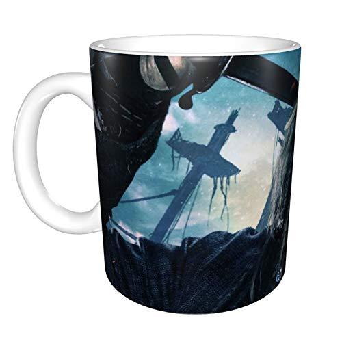 Taza de café de cerámica con diseño de piratas del Caribe, regalo...