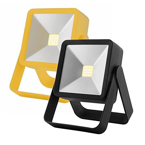 2-Pack AlltroLite Stance Kickstand COB Work Light for Mechanics