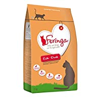 Feringa Adult Duck 2kg dry food is made from carefully selected duck meat. Cats are natural carnivores, and Feringa provides a natural, species-appropriate diet. It contains absolutely no grains, as cats are not able to digest them in large amounts. ...