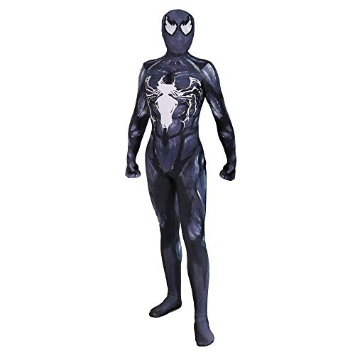 YQFZ Zwarte Venom Spiderman Cosplay Kleding 2019 Halloween Jurk Kostuum Elastische Bodysuit Movie Show Masquerade Party Kostuum Props