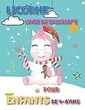 Licorne Livre De Coloriage Pour Enfants De 4-8 Ans: Magique et Merveilleux pour les Filles de 4 à 2 ans, Livre à Colorier avec des Dessin de plus de 30 Adorables Licornes.