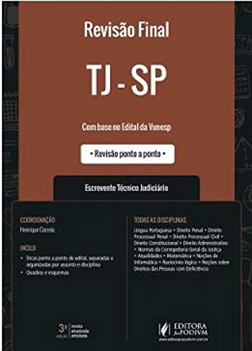 TJ-SP - ESCREVENTE TÉCNICO JUDICIÁRIO - DICAS PONTO A PONTO DO EDITAL (2021)