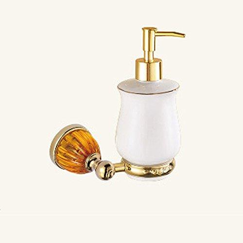 XBR salle de bains matériel pendentif, golden amber bain, savon bouteille, distributeur de savon, salle de bains matériel