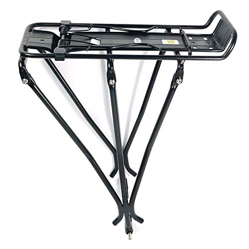 Best Price Dertyped Bicycle Rack Bicycle Carrier Rack Bicycle Rear Rack Carrier Rack Black Aluminum ...