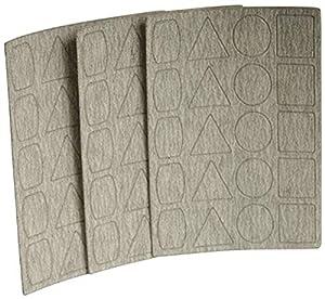 Festool 499057 P100 Grit Rubin 2 Abrasives for RTS 400//LS 130 Sander 10-Pack