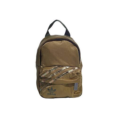 Adidas Women's BP Mini Backpack, Wild Moss/Wild Pine, NS