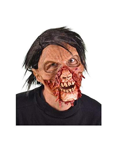 Des lambeaux de masque de zombie pin