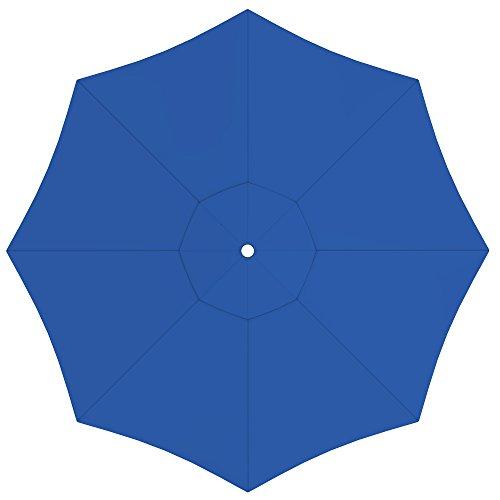 paramondo Sonnenschirm Bespannung Ink. Air Vent für paragrandi Gartenschirm/Großschirm (5m / rund), blau