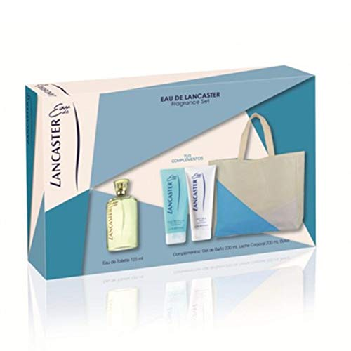 LANCASTER EAU 125ML DOUCHEGEL 200ML + + + BODY LOTION 200ML BAG