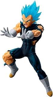 Banpresto kuji Dragon Ball Saiyan battle D Award Vegeta 18 Figure 13cm