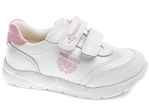 Zapatillas para niña, Color Blanco, Marca PABLOSKY, Modelo Zapatillas para Niña PABLOSKY 277907 Blanco