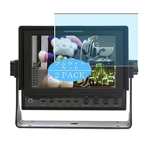 VacFun 2 Piezas Filtro Luz Azul Protector de Pantalla, compatible con ViewZ Broadcast Monitor VZ-070FM-E 7', Screen Protector Película Protectora(Not Cristal Templado)