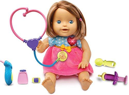 Vtech 179503 Little Love Cuddle and Care Baby-Puppe, Verschiedene Variatonen erhältlich