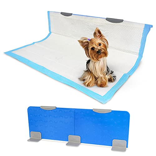 Pico Potty Wall - Vertical Dog Puppy Pee Pad Holder - Indoor Potty Training - Wall, Door, and Furniture Protection - Potty Pads