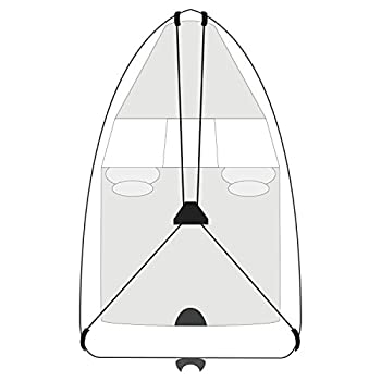 Budge BA-39 Black 27  Long Boat Cover Support System
