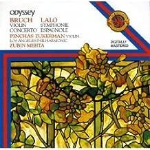 Bruch: Violin Concerto, Op 26; Lalo: Symphonie Espagnole, Op 21