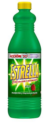 Estrella limpahogar con lejía y detergente pino 1,5L