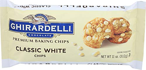 Ghirardelli, Chocolate Chips Classic White, 11 Ounce