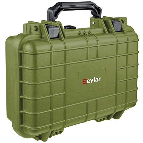 Eylar Tactical Hard 1 Gun Case Water & Shock Proof with Foam...