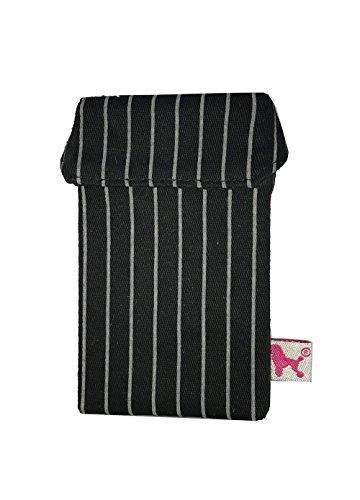 smokeshirt® Zigarettenetui Slim 63 mm div. Designs smoke shirt Hülle für Zigarettenschachtel in der Größe Slim, modisch, Elegante, patentiert