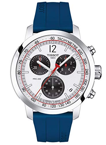 Tissot Herrenuhr PRC 200 Chronograph IIHF Special Edition T114.417.17.037.00