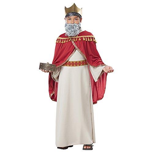 California Costumes Boys Melchior, Wise Man (Three Kings) Child Costume