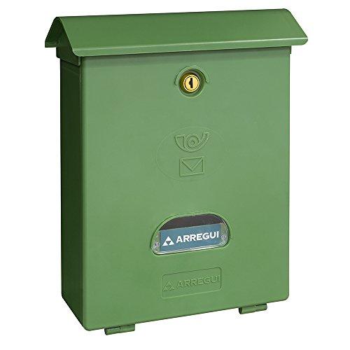 ARREGUI E1073 – Classic brievenbus van kunststof groen