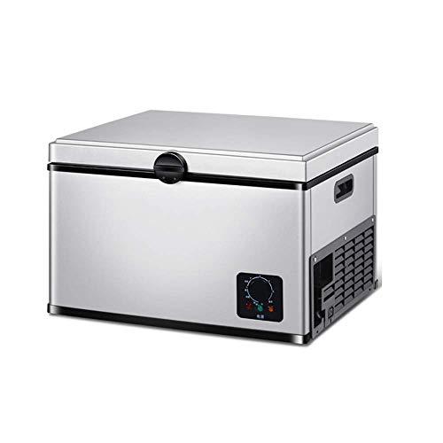 PULLEY Refrigerador portátil, compresor eléctrico portátil, nevera y congelador para camping, viajes, uso en exteriores y en el hogar (550 x 446 x 452 mm)