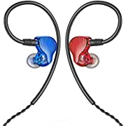 FiiO FA1 In-Ear-Monitor, balanciert, Rot/Blau