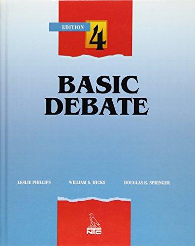 Basic Debate : 4th Edition